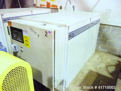 Used- AEC Glacier Series Water Cooled Portable Chiller, Model NXGW-25. Cooling capacity 24 tons, chilled water 60 gallons pe...