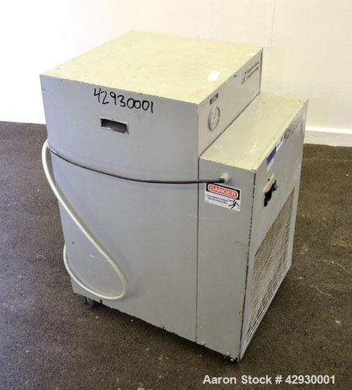Used- AEC Air Cooled Portable Chiller, Model PCA-150. Cooling capacity 1 ton, chilled water 4 gallons per minute. Minimum te...