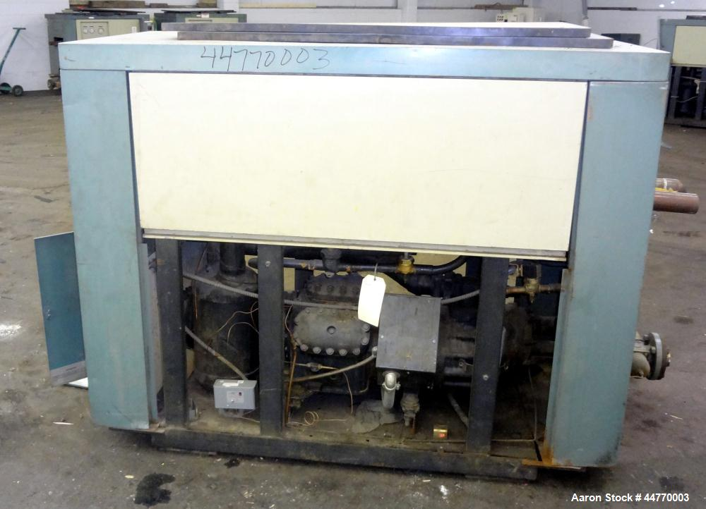 Used- AEC Water Cooled Chiller, Model WC-30-Q. Cooling capacity 30 tons, chilled water 72 gallons per minute. Minimum temper...
