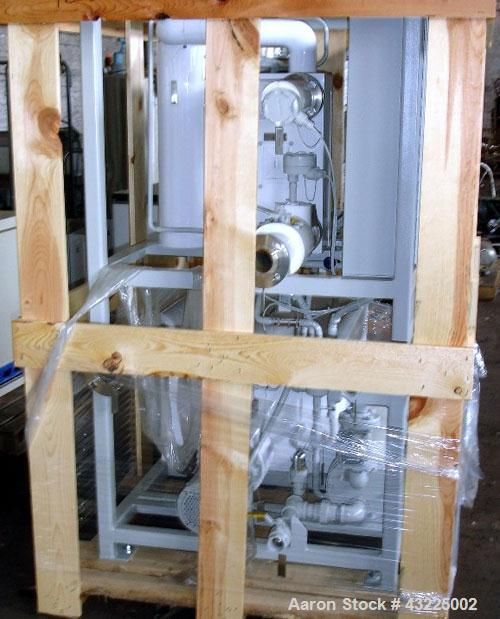 Unused- Budzar 15 Ton Water Cooled Chiller, Model LTW-15-FCB-70-S2S1. Nominally rated 70 gpm at 90' tdh. (2) Compressors, 5 ...