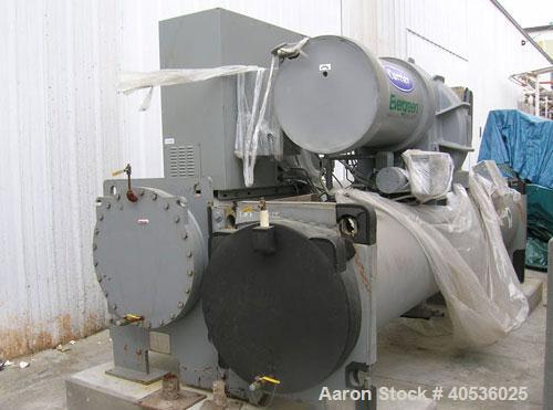 Used-Carrier 450 ton, model 19XRV4647, centrifugal compressor. 460/3/60 volts, R134a refrigerant, highly efficient variable ...