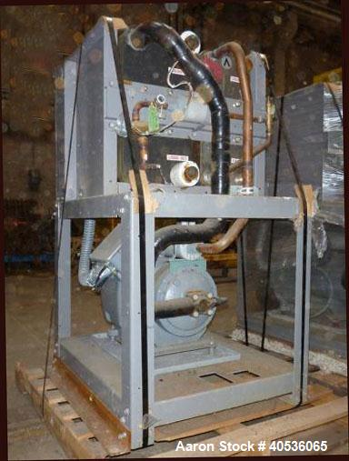 Used- Carrier Water Cooled Chiller, Model 30HWB025-A-500KA.