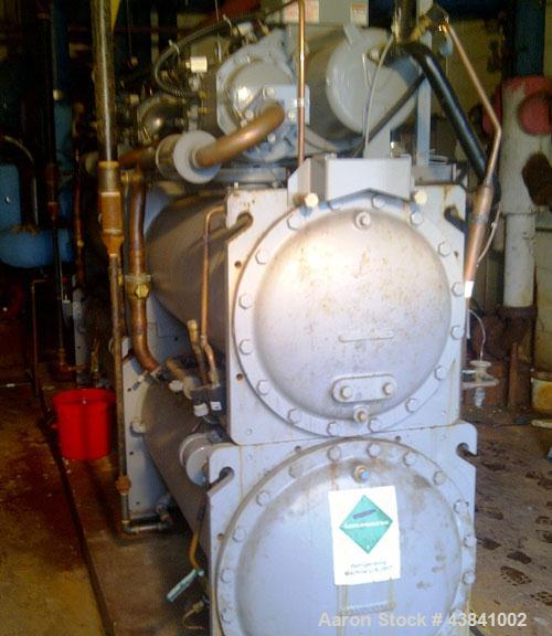 Used-Carrier Chiller, Model 30HXC206R_160BA.  200 Ton, water cooled, 575V/3 phase/60 hz, refrigerant R-134A, manufactured 20...