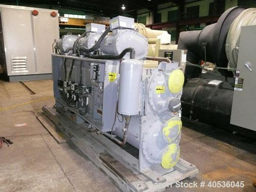 Unused-Slightly Damaged Carrier Model 30HXC246R--650--, Nominal 246 Ton, Water Cooled Screw Chiller. Designed for 460/3/60 v...