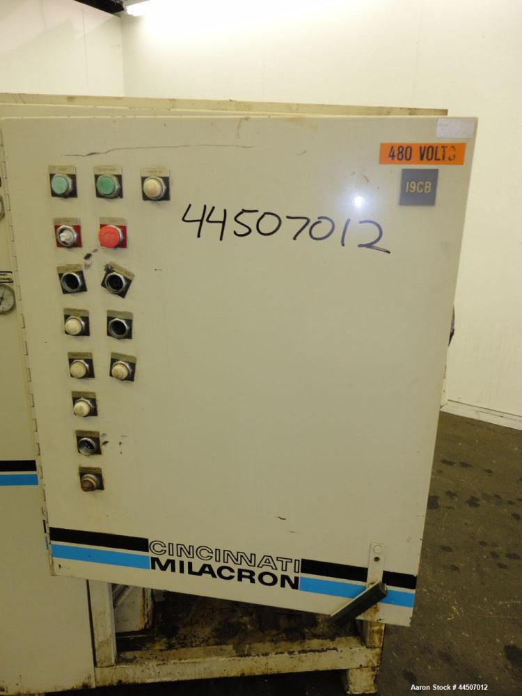 Used- Cincinnati Milacron Water Cooled Chiller, Model RC-30WS-2090-41SRX