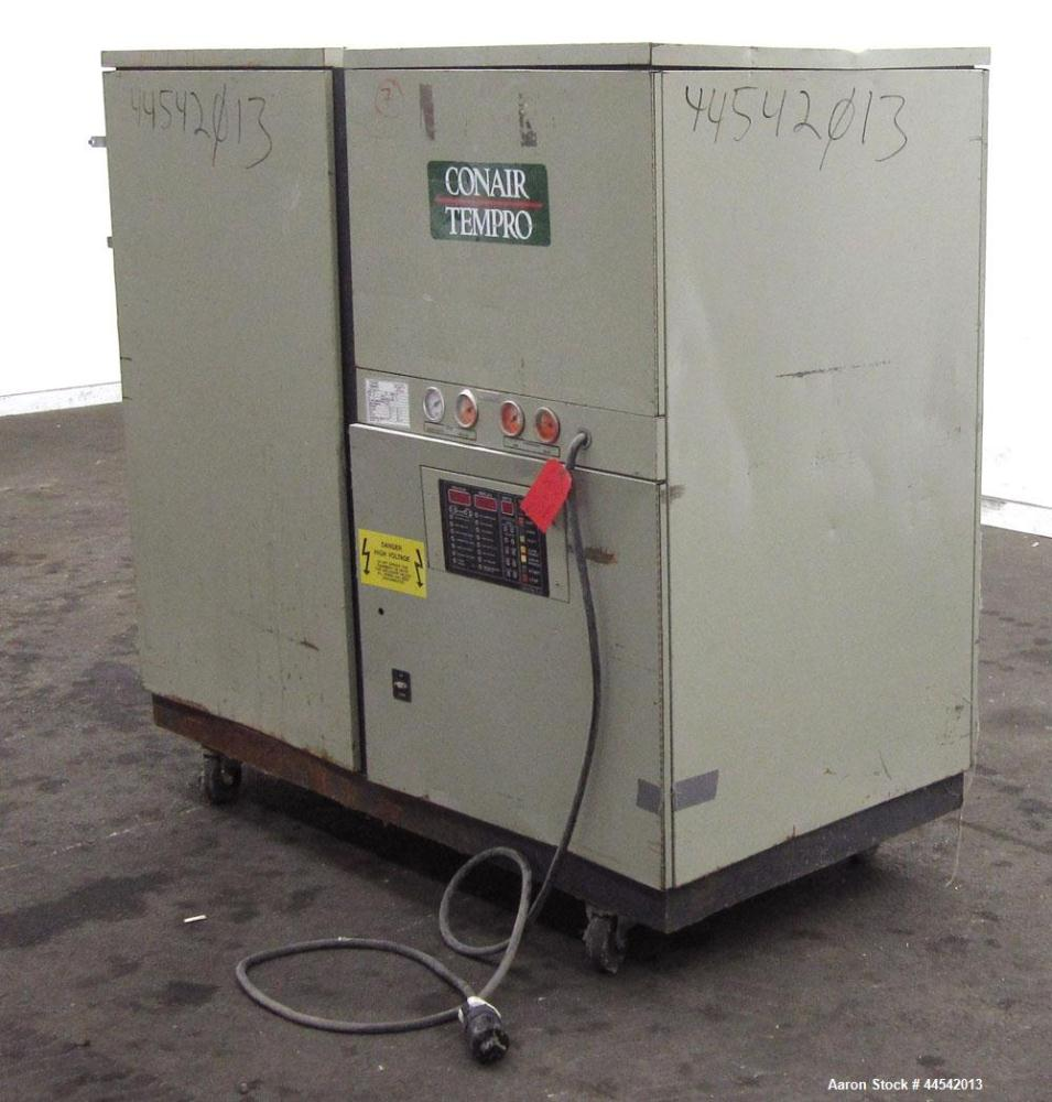 Used- Conair Tempro Chiller, Model WC3-5, Approximately 5.8 tons. Water cooled. Temperature range 20 to 65 degrees F. Includ...