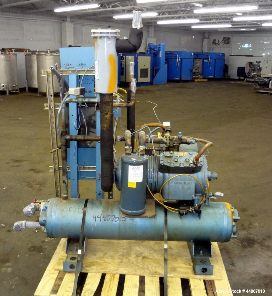 Used- Dunham Bush Small Package Water Cooled Chiller, Model WH-204-UPHF
