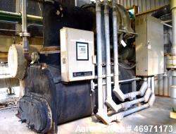 Used- Trane CVHF CenTraVac Water Cooled Chiller, Model CVHF640, Approximate 640 Tons. R-123 Refrigerant, 3/60/460 volts. Inc...