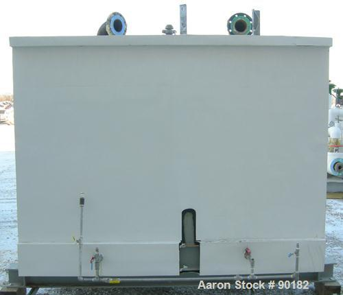 """Used- Glycol System consisting of: (1) Refrigeration Valves and Systems horizontal surge tank, 550 gallon, carbon steel. 36""""..."""