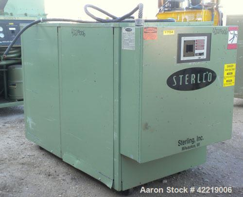 Used- Sterlco Portable Chiller, model CFP7.5WQ, water cooled. Approximately 7 tons cooling capacity. Temperature range 30 to...