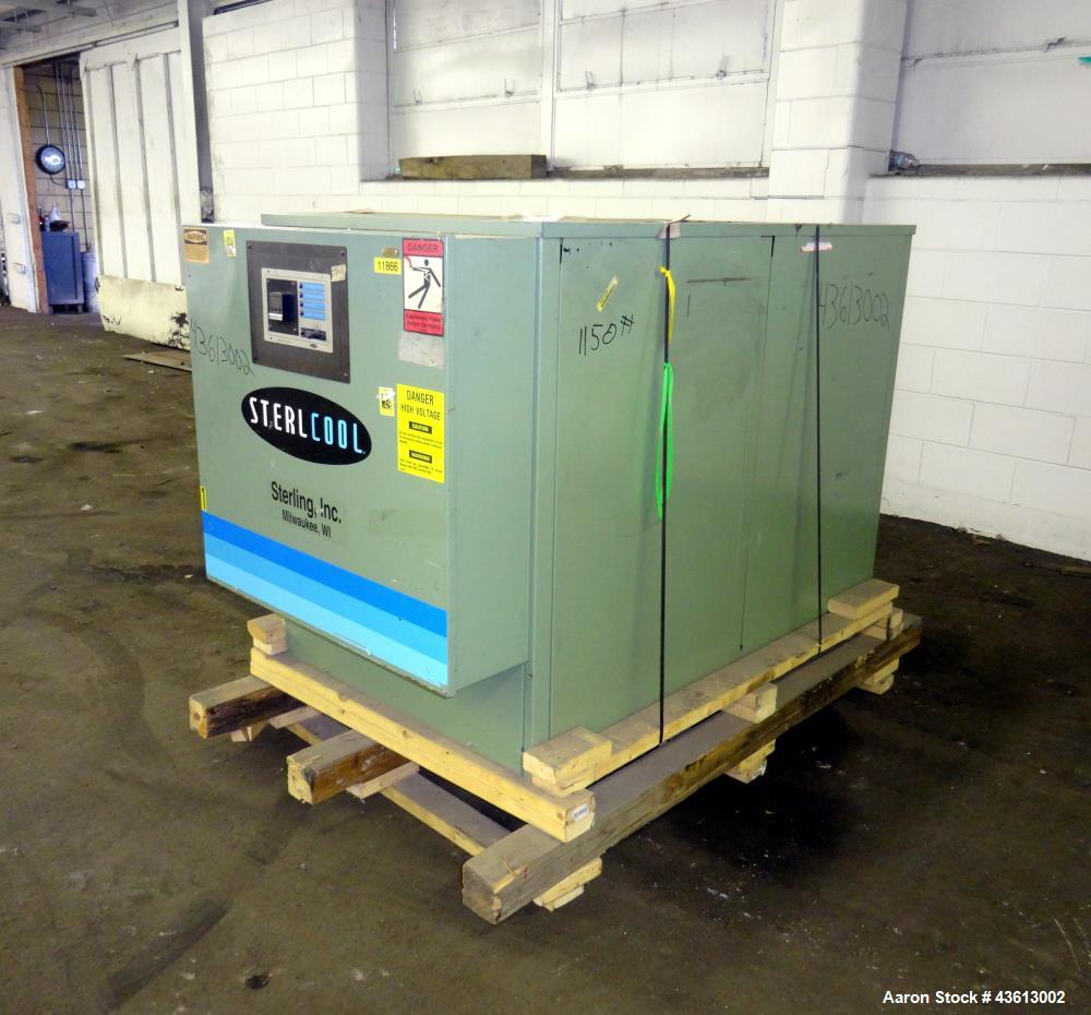 Used- 8 Ton Sterling Company Sterlcool Chiller, Model MD-CFP7.5WQ