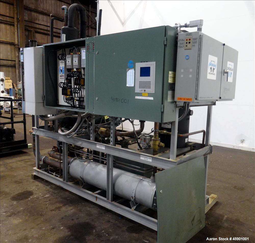 Used- Chiller System, Approximate 185 Tons
