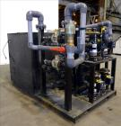 Used- AEC Pinnacle Series Central Chiller System, Model PINN2-60-W-Q. Cooling capacity 57 tons. 3/60/460, chilled water 137 ...