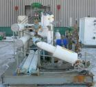 Used- Glycol System consisting of: (1) Refrigeration Valves and Systems horizontal surge tank, 550 gallon, carbon steel. 36