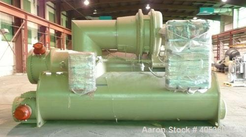 Used-Unused Trane Model CVHF910, 942 Nominal Ton Water Cooled Centrifugal Chiller, Designed for 460/3/60 Volt Operation.Incl...