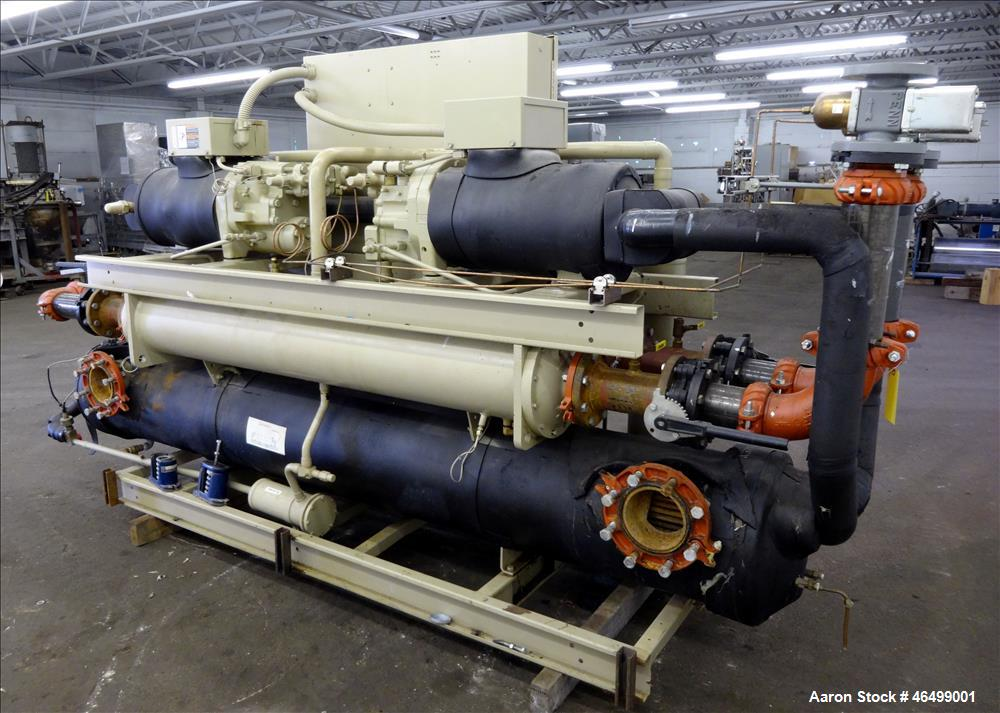Used- Trane R Series Water Cooled Rotary Liquid Chiller