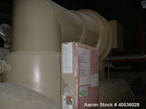 Used-Unused Trane Model CVHF910, 942 Nominal Ton Water Cooled Centrifugal Chiller, Designed for 460/3/60 Volt Operation. Inc...