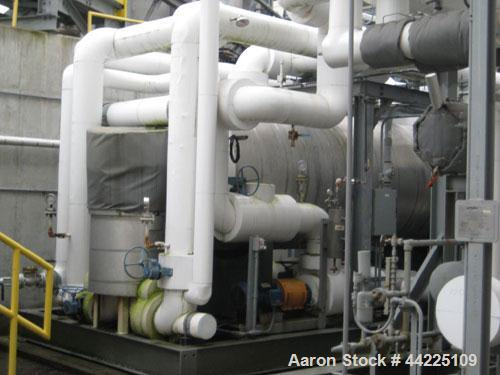 Used- York Helical Screw Compressor, 130 Tons. 130TR Slytherm XLT chiller package. Model RWB11-316F. 450 hp. 134A refrigeran...