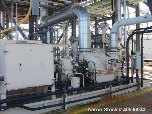 Used-York 650 ton multistage centrifugal OM compressor, 1500 hp drive, designed for -10 deg F brine, used for chlorine lique...