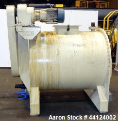 Used- Taunton Engineering Works Cylindrical Chocolate Emulsifier Paddle Mixer
