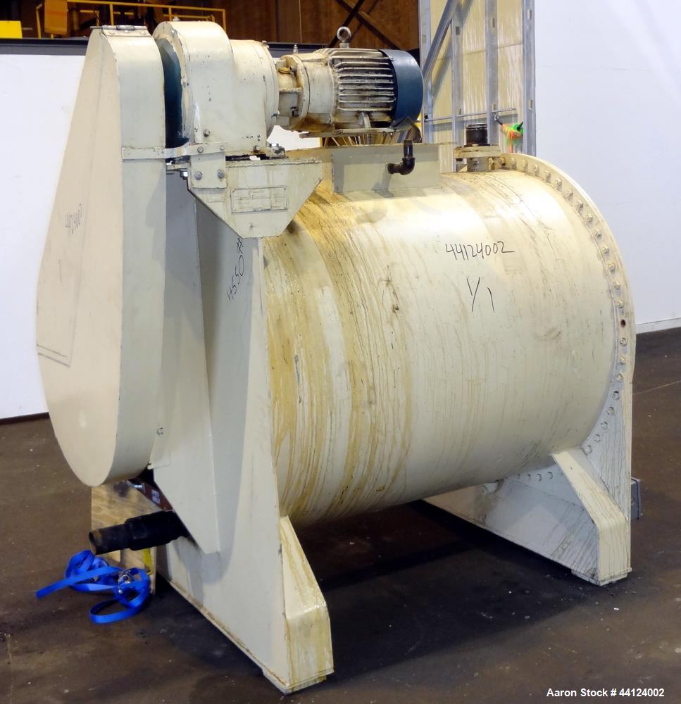 Used- Taunton Engineering Works Cylindrical Chocolate Emulsifier Paddle Mixer