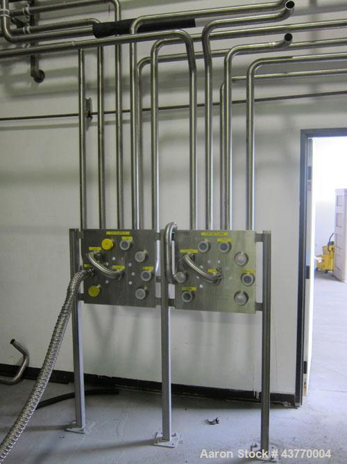 Used-CIP Controller, filters,support piping system.