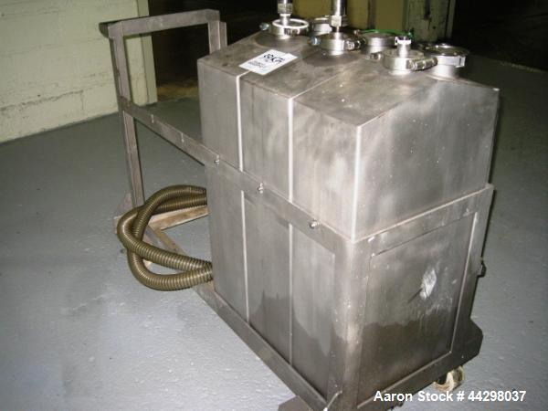 Used- CIP System with make up tanks, storage tank, pumps and controls. Parts are located on or near UID#3210659.