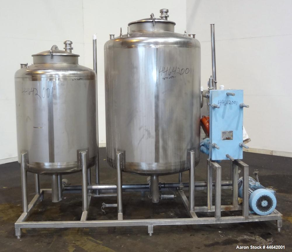 Used- Stainless Steel JCS Process & Control CIP System