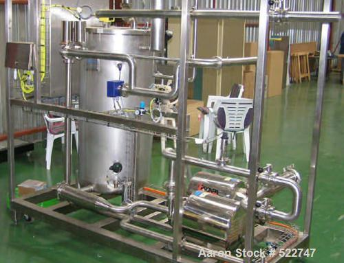 NEW: CIP system including the following: balance tank; dosing system; supply pump, E-2355A, 4m3/hour @ 38mWC to 46m3/hour @ ...