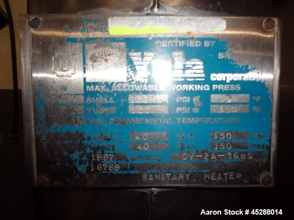 Used- Custom Stainless Steel Fabricating CIP Skid