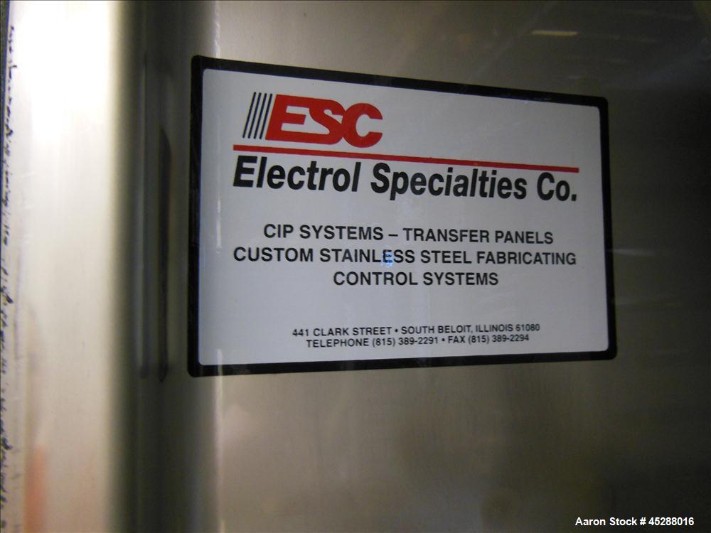 Used- Custom Stainless Steel Clean In Place Skid