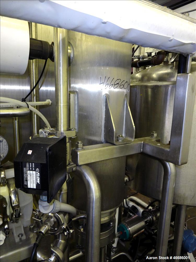 Used- Electrol Specialties Company CIP Clean In Place Skid, Model 800RMA, 316 St