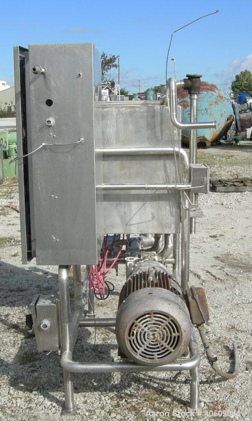 Used- Stainless Steel G H Products Single Tank CIP System