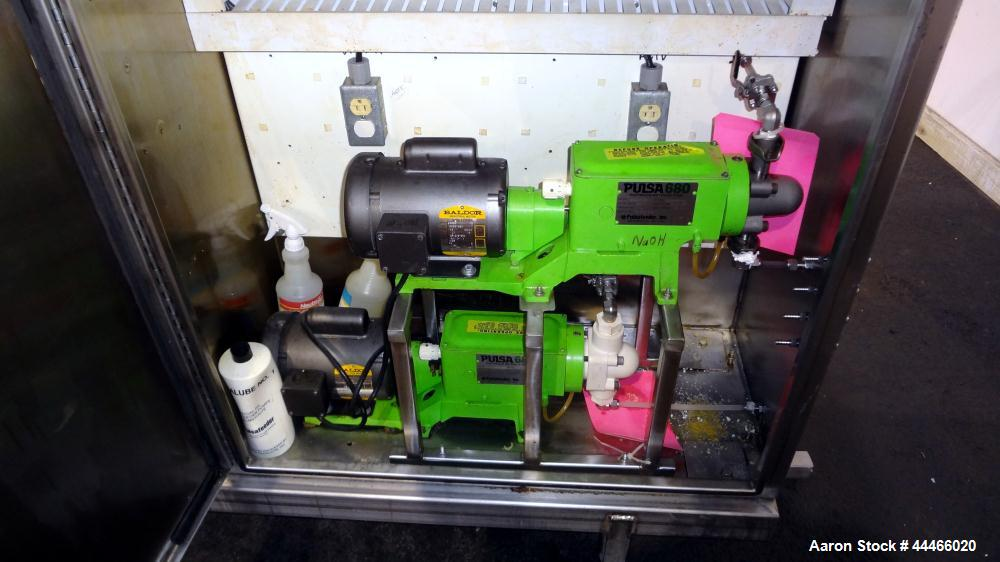 Used- Stainless Steel Hartel CIP System