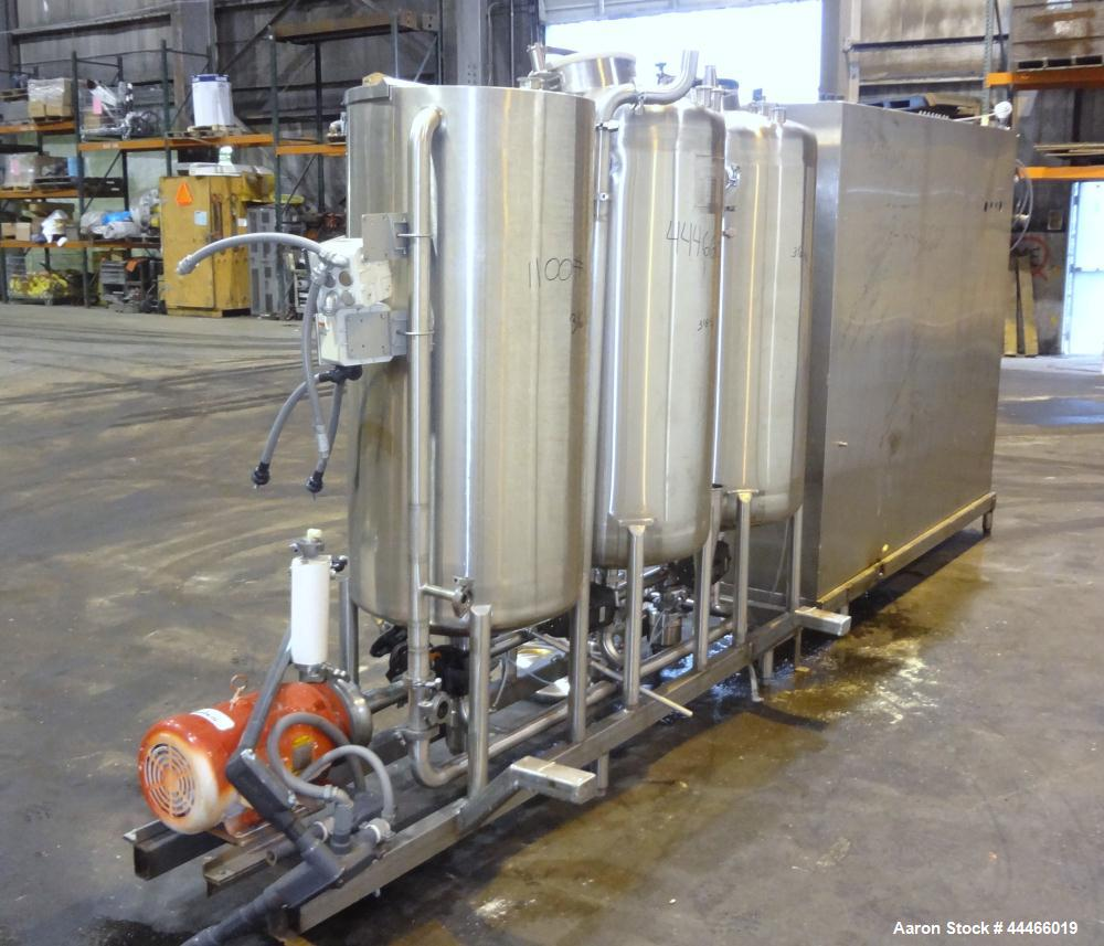 Used- Stainless Steel Hartel Clean In Place System