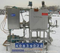 Used- Klenzade Single Tank CIP System