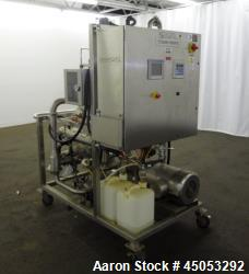 Used- Sani-Matic UltraFlow Portable CIP System, 316 Stainless Steel.