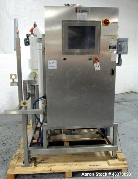 Used- Thomas Engineering CIP Skid, with gallon Pure Flo MPC Tank,