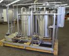 Used- Clean-In-Place System consisting of: (2) tanks, approximate 100 gallon, 304 stainless steel. 30