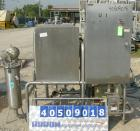 Used- G H Products Single Tank CIP System, 316 stainless steel. 75 gallon holding tank, 24'' wide x 24'' long x 30'' deep, 2...