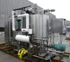 Used- Hartel Clean In Place CIP System consisting of: (2) Hartel 400 gallon, 304 stainless steel tanks, 48