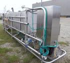 Used- Klenzade Flo-Gineered Klenzmation CIP System consisting of: (1) Klenzade 3 compartment tank system, (2) approximate 70...