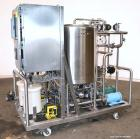 Used- Portable Clean In Place System (CIP) consisting of: (1) 100 gallon 316 stainless steel tank, approximately 30