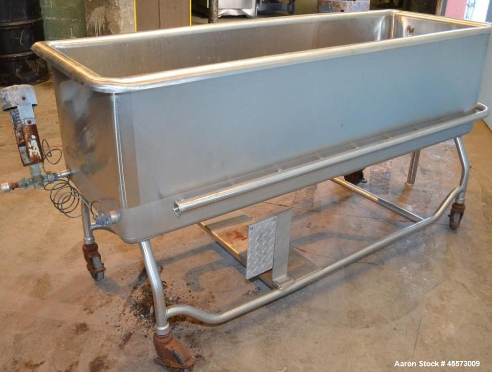 Used- Sani-Matic Stainless Steel COP Tank
