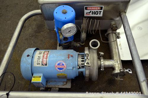 Used- DEC Sani-Matic Clean Out Of Place Tank, Model PRW-60