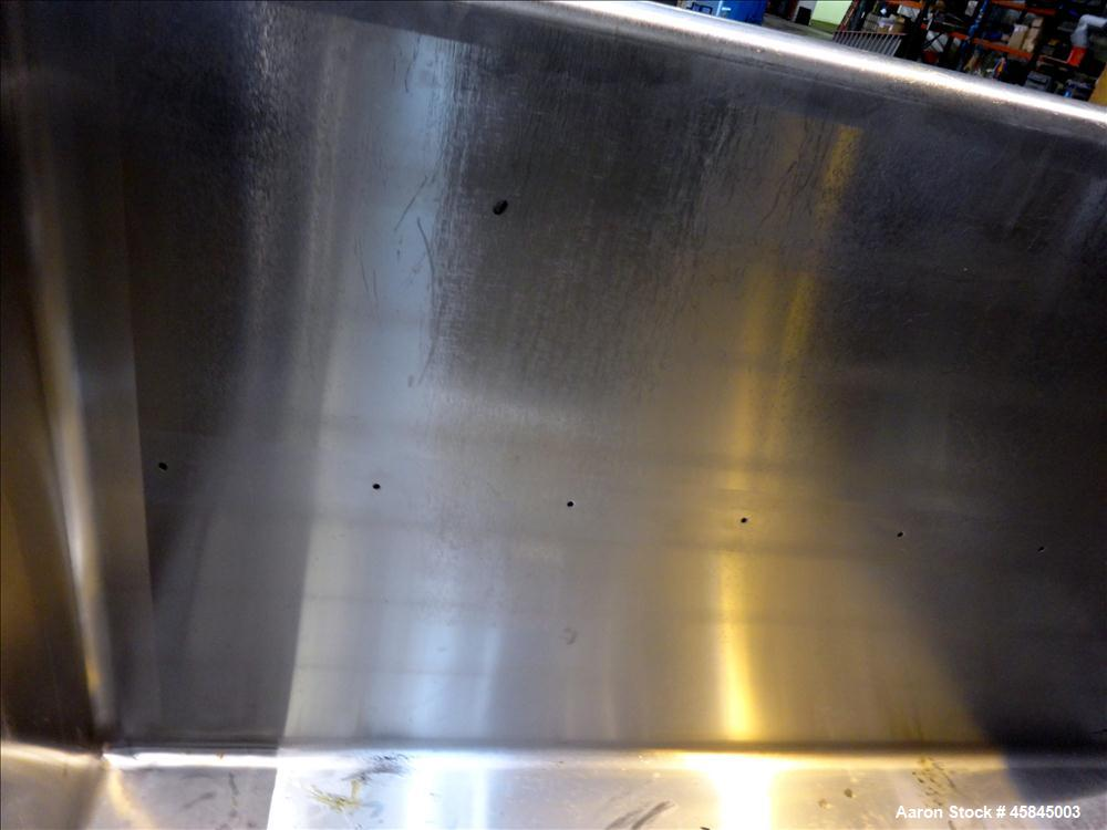 Used- Sani-Matic Clean-Out-Of-Place Washer