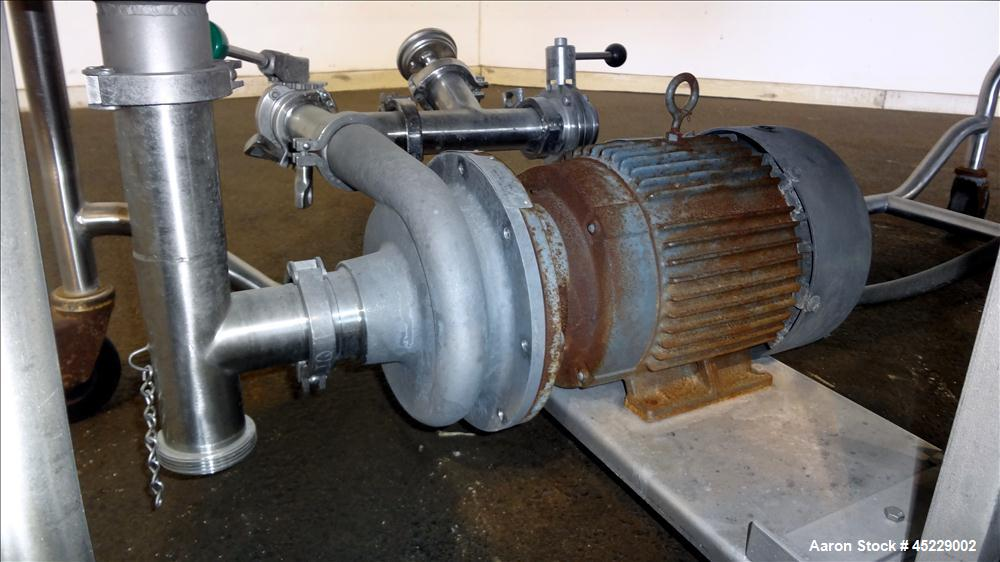 Used- DEC Sani-Matic Clean Out Of Place Washer, Model RWJ-150