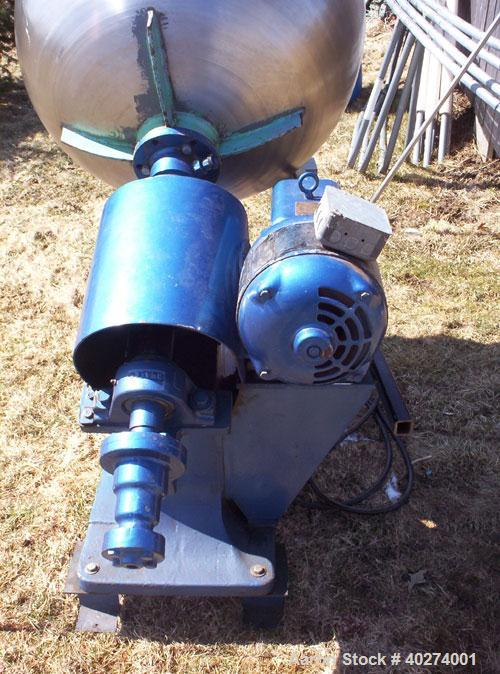 "Used- Walter coating pan, 30"" diameter, stainless steel.  1 hp motor, 3/60, 220/440 volts 3.2 amps, 1750 rpm.  Low speed: 10..."