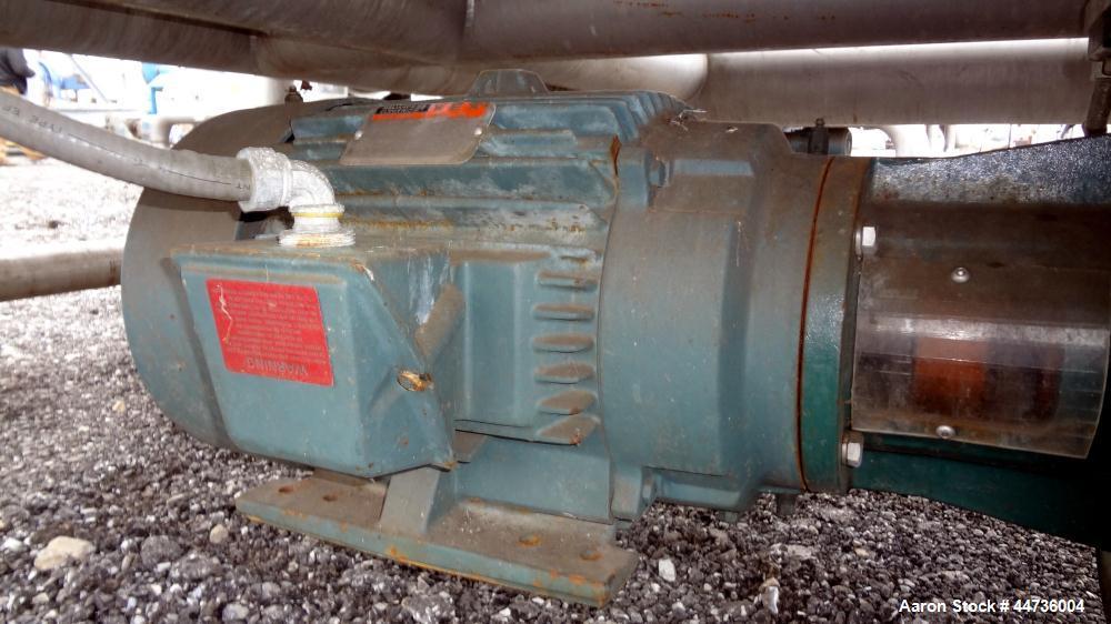 "Used- Custom Mechanical Contractors (CMC) Coating Drum, 304 Stainless Steel. Horizontal drum 80.88"" diameter x 108"" straight..."