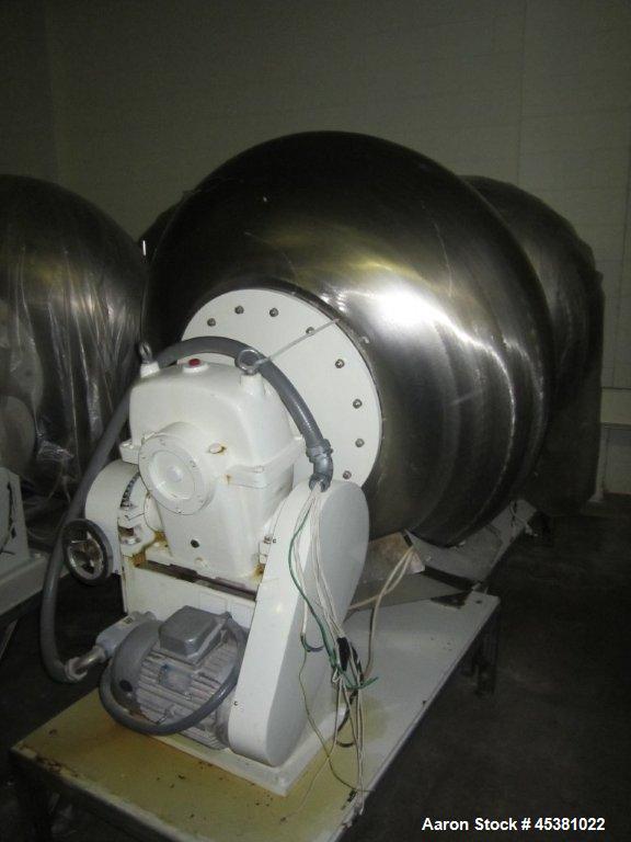 Used-Jiangsu Cuibao Group Model BTF1250 Chufa sugar coating pans. Electrically heated.